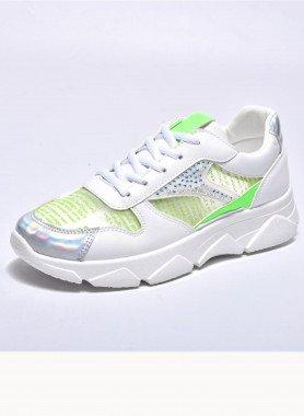 Sneaker, colore neon