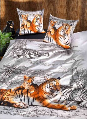 """Parure da letto  """"TIGER-LOVE"""""""