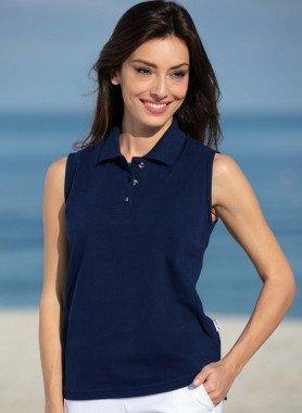 Polo Shirt senza maniche  *AT COM*