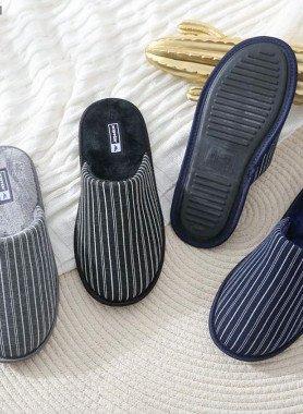Pantofole du uomo, rigato