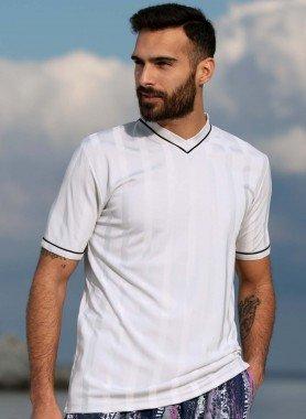 Shirt, scoll.a V