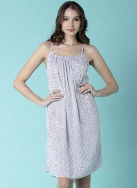 Träger-Kleid, Streifen