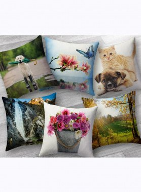 Cuscini decorativi con stampa digitale
