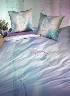"""Biancheria da letto  """"FARFALLA"""" , stampa digitale"""