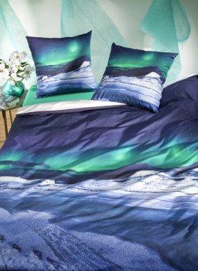 "Biancheria da letto  ""POLARLICHT"" , stampa digitale"