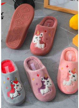 "Pantofole per bambini ""Unicorno"""