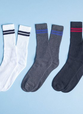 Unisex-Tennis-Socken, 5 Paar