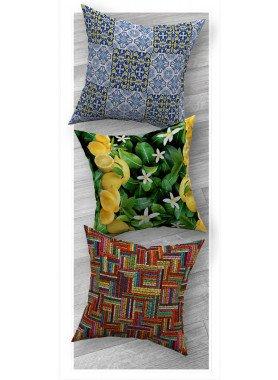 Cuscini decorativi con fodera in velluto