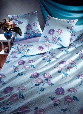 "Biancheria da letto in seersucker ""ROSANA"""