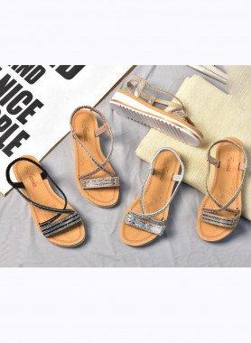 Sandalette con strass