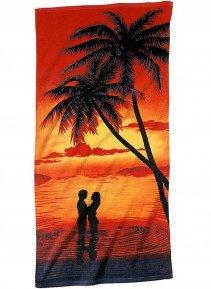 Strandtuch Palm-Lovers 76x152 - 1 - Ronja.ch