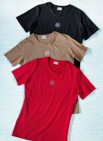 D-KA-Shirt,Stickerei,braun L 043 - 1 - Ronja.ch