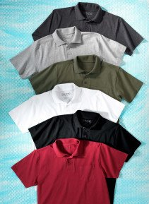 H-Polo-Shirt anthrazit L 013 - 2 - Ronja.ch