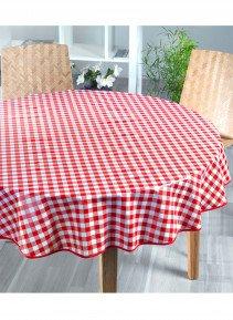 Tischdecke,Kölsch rot 160cm - 1 - Ronja.ch
