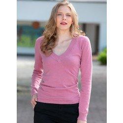 Pullover-maglia scollatura V