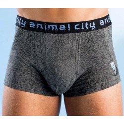Boxer da uomo  «Animal-City» Set 2 pezzi per colore