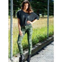 Pantaloni stile militare