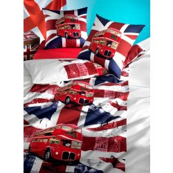 Parure da letto  «LONDON-BUS»