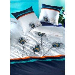 Biancheria da letto in satin «PEACOCK»