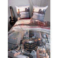 """Biancheria da letto, stampa digitale  """"CITY"""""""