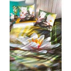 """Biancheria da letto, stampa digitale """"MAGNOLIA"""""""