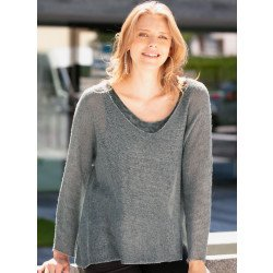 Twin-Set-Top/Pullover